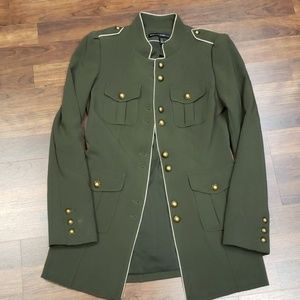 Army Green Military Style Jacket